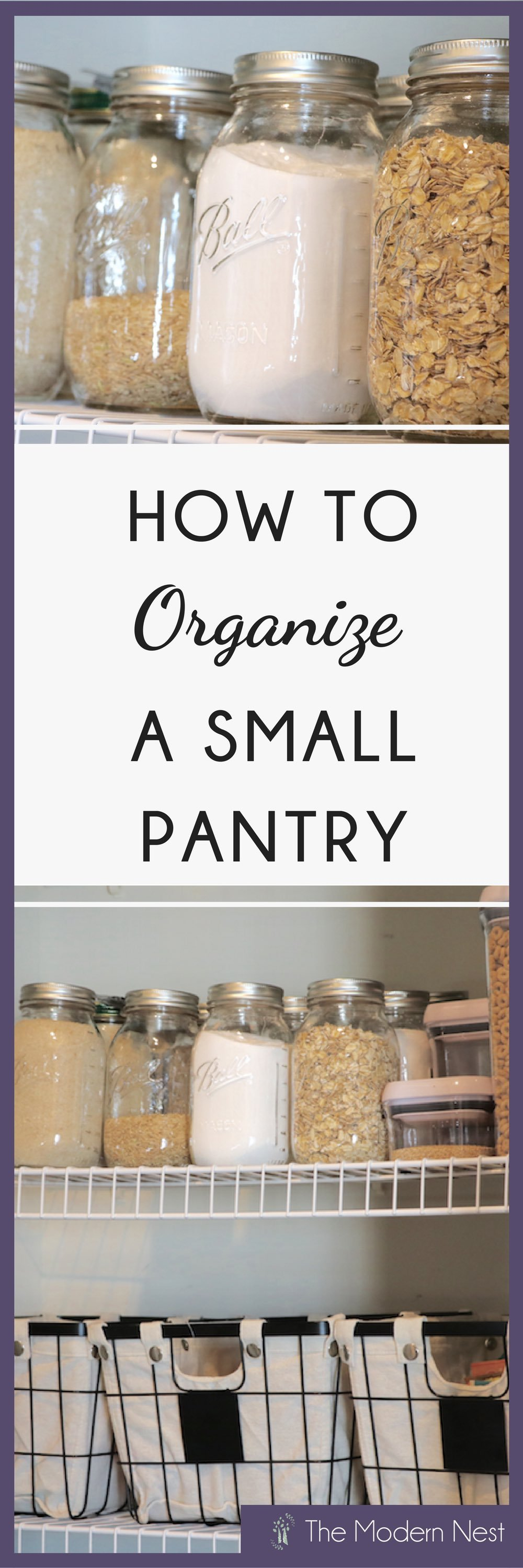 Learn How To Organize A Small Pantry! If You Find Yourself Struggling To  Find Space