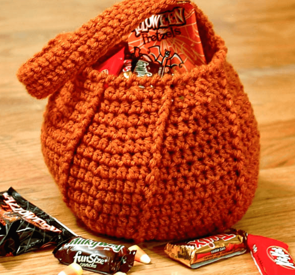 FREE Crochet Halloween Bag Patterns Great for Trick-or-Treating ...