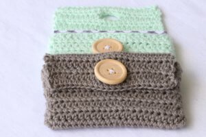 business card holder crochet pattern