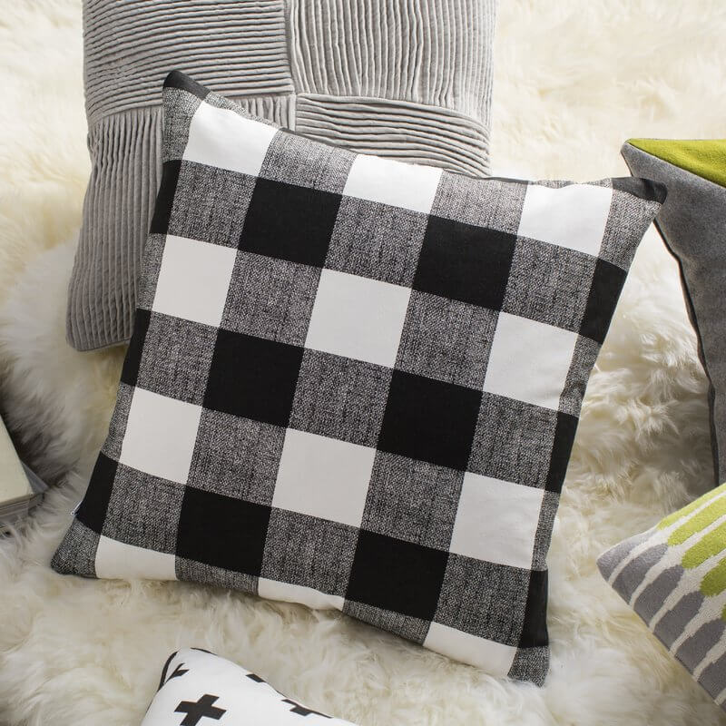 Buffalo Check Home Decor Birch Lane Pillow