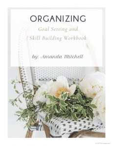 organization workbook
