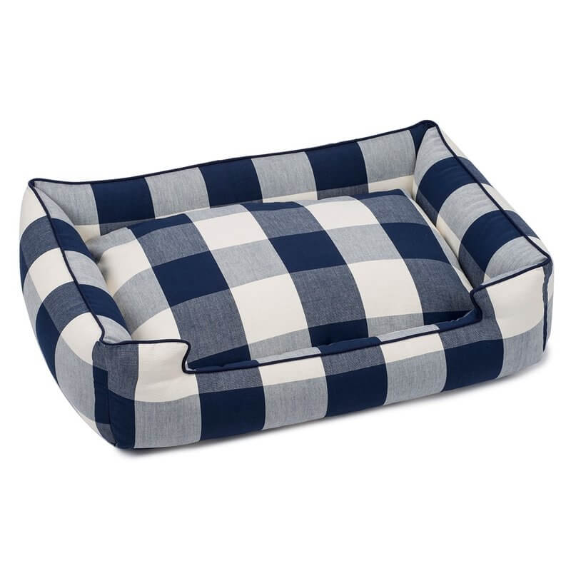 buffalo check home decor-pet bed