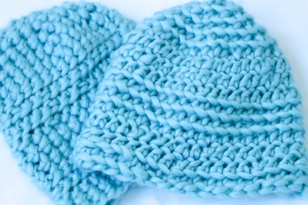 deceptively simple crochet beanie pattern- complete
