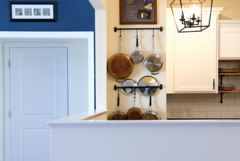 pots and pans storage solutions