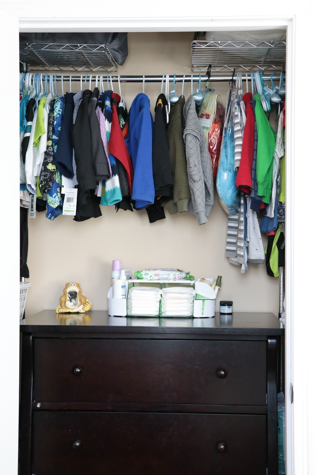 How to Declutter Your Bedroom-use closet space