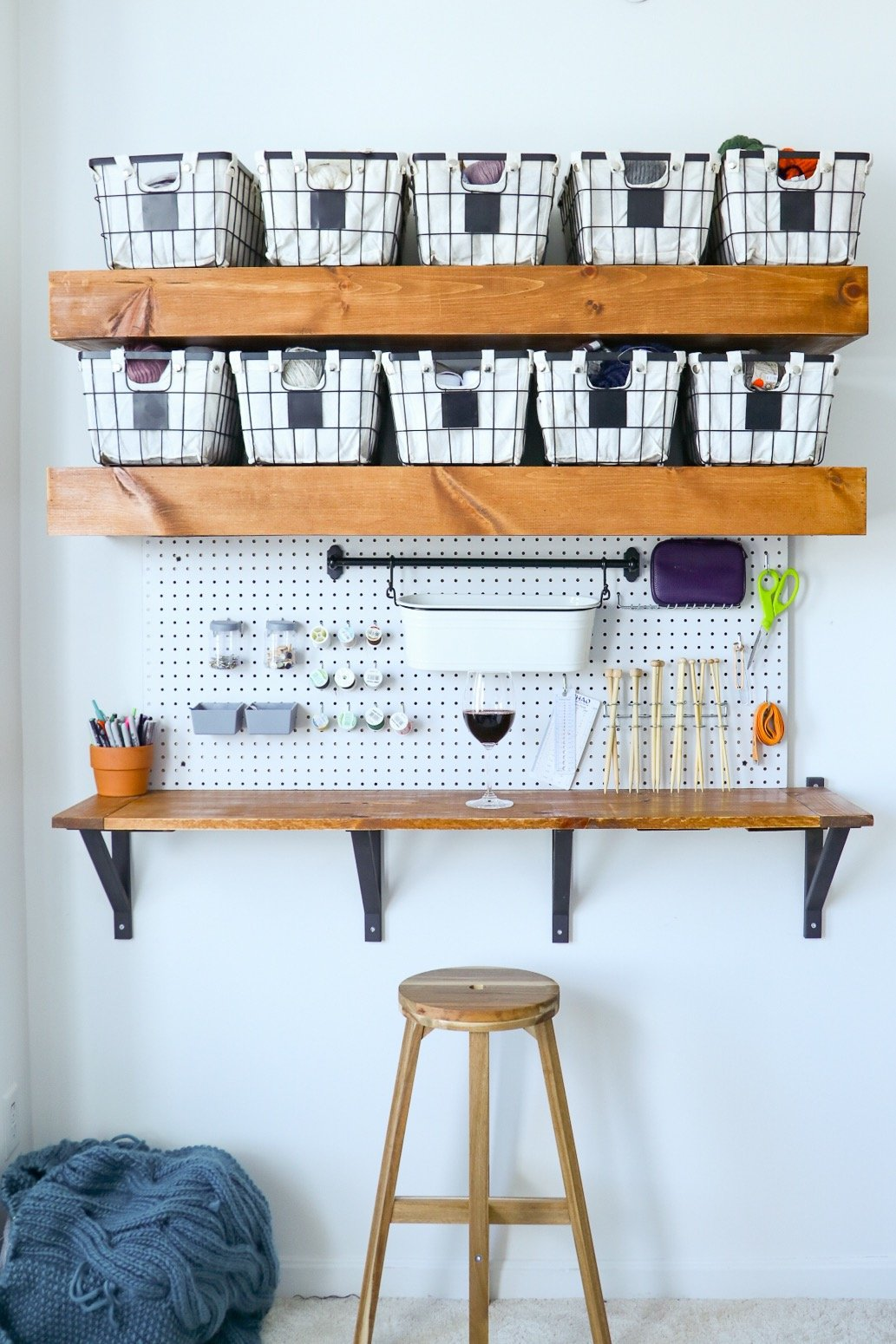 diy craft corner bar