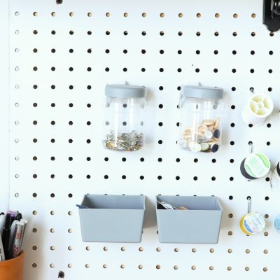 Projects That Show How to Organize and Decorate Any Space with Pegboard