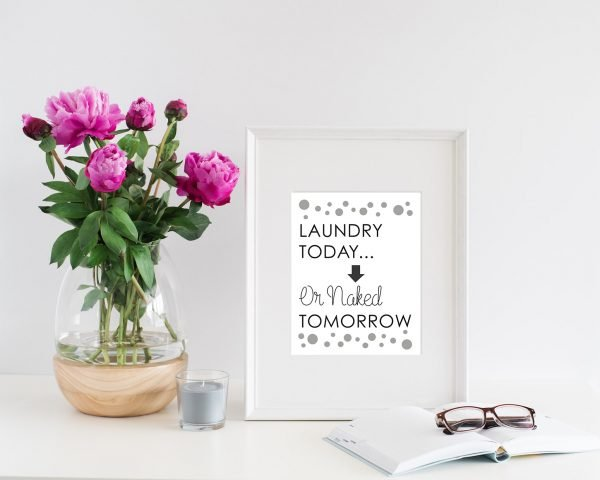 laundry room quotes printable laundry room quote one mockup
