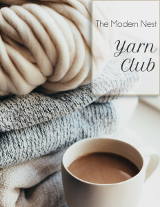 the modern nest yarn club image
